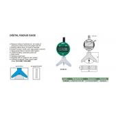 INSIZE 2188 digitální úchylkoměr s nástavcem pro měření rádiusu R4-53mm/0,16-2,09